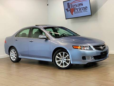 2007 Acura TSX for sale at Texas Prime Motors in Houston TX