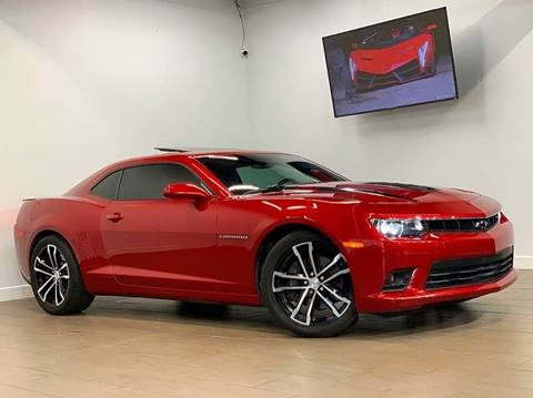 2014 Chevrolet Camaro for sale at Texas Prime Motors in Houston TX