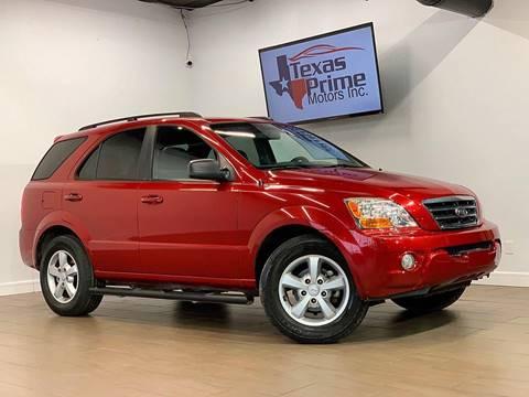 2008 Kia Sorento for sale at Texas Prime Motors in Houston TX