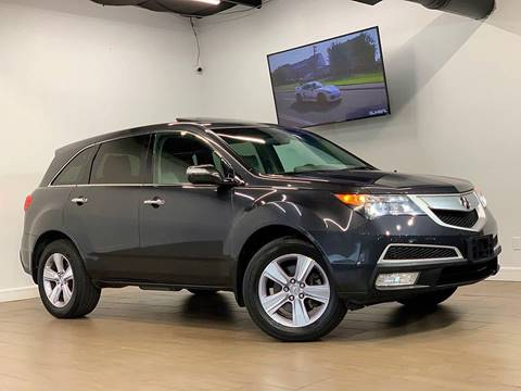 2013 Acura MDX for sale at Texas Prime Motors in Houston TX