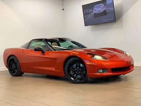 2005 Chevrolet Corvette for sale at Texas Prime Motors in Houston TX