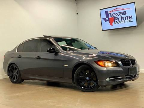 2007 BMW 3 Series for sale at Texas Prime Motors in Houston TX