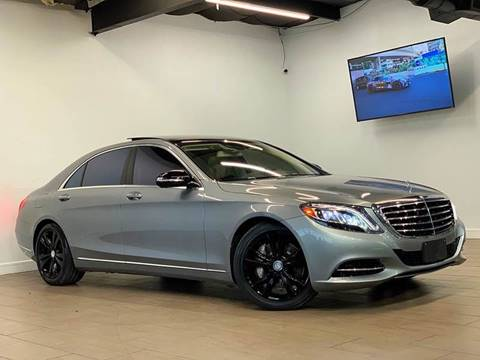 2015 Mercedes-Benz S-Class for sale at Texas Prime Motors in Houston TX