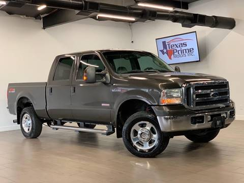 2005 Ford F-250 Super Duty for sale at Texas Prime Motors in Houston TX