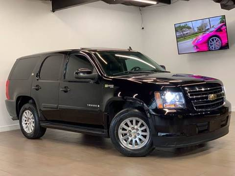 2008 Chevrolet Tahoe Hybrid for sale at Texas Prime Motors in Houston TX