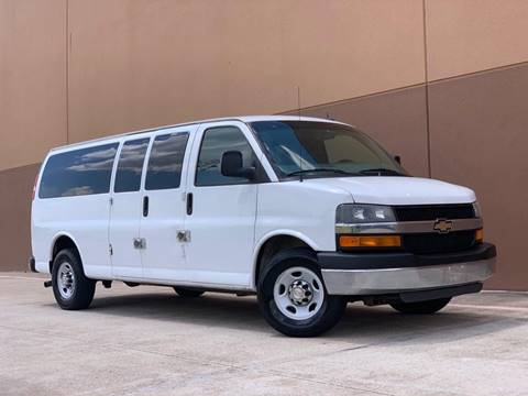 2014 Chevrolet Express Passenger for sale at Texas Prime Motors in Houston TX