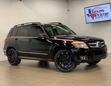 2010 Mercedes-Benz GLK for sale at Texas Prime Motors in Houston TX