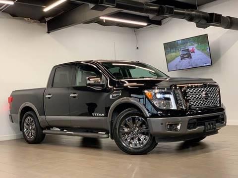 2017 Nissan Titan for sale at Texas Prime Motors in Houston TX