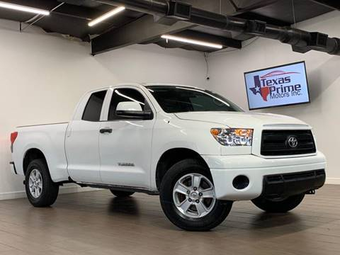2010 Toyota Tundra for sale at Texas Prime Motors in Houston TX