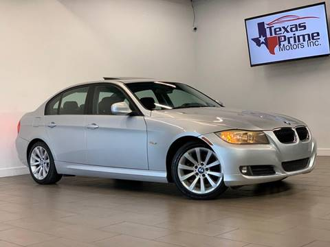 2011 BMW 3 Series for sale at Texas Prime Motors in Houston TX