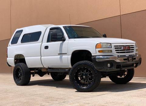 2006 GMC Sierra 2500HD for sale at Texas Prime Motors in Houston TX