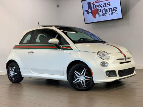 2012 FIAT 500 for sale at Texas Prime Motors in Houston TX