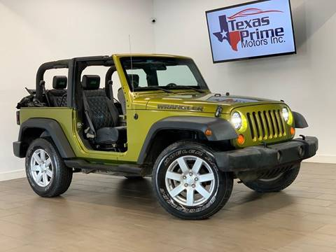 2007 Jeep Wrangler for sale at Texas Prime Motors in Houston TX