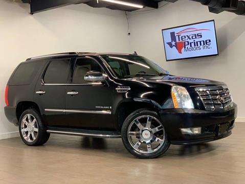 2008 Cadillac Escalade for sale at Texas Prime Motors in Houston TX