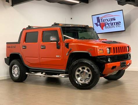 2008 HUMMER H2 SUT for sale at Texas Prime Motors in Houston TX