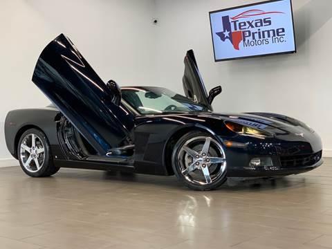 2007 Chevrolet Corvette for sale at Texas Prime Motors in Houston TX