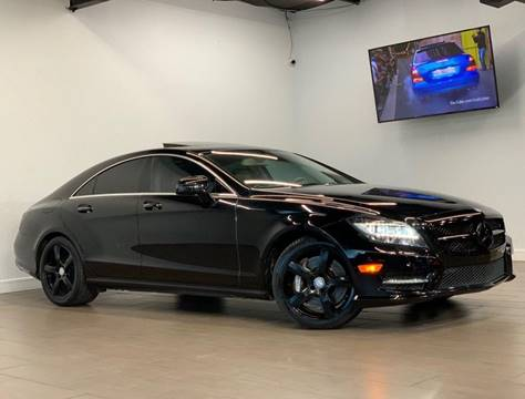 2014 Mercedes-Benz CLS for sale at Texas Prime Motors in Houston TX