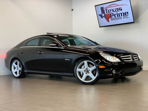 2007 Mercedes-Benz CLS for sale at Texas Prime Motors in Houston TX