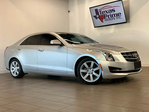 2015 Cadillac ATS for sale at Texas Prime Motors in Houston TX
