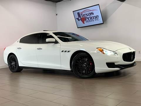 2014 Maserati Quattroporte for sale at Texas Prime Motors in Houston TX