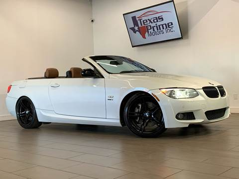 2013 BMW 3 Series for sale at Texas Prime Motors in Houston TX
