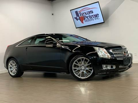 2011 Cadillac CTS for sale at Texas Prime Motors in Houston TX