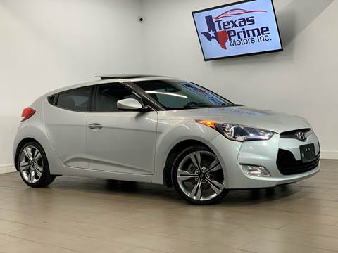 2012 Hyundai Veloster for sale at Texas Prime Motors in Houston TX