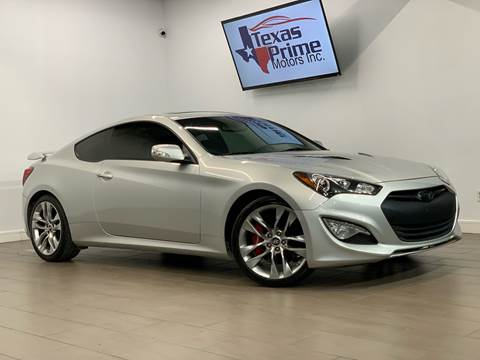 2013 Hyundai Genesis Coupe for sale at Texas Prime Motors in Houston TX