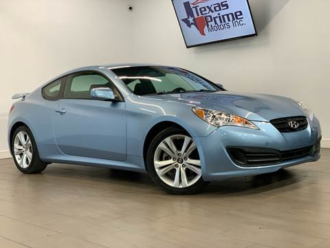 2011 Hyundai Genesis Coupe for sale at Texas Prime Motors in Houston TX
