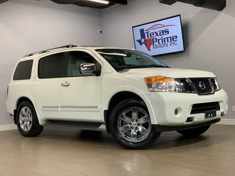 2010 Nissan Armada for sale at Texas Prime Motors in Houston TX