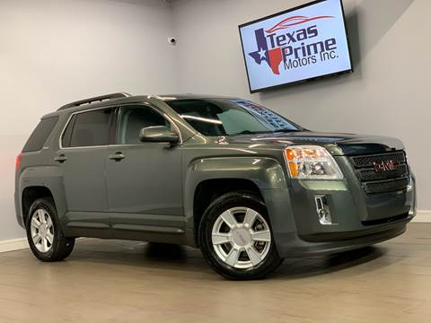 2012 GMC Terrain for sale at Texas Prime Motors in Houston TX