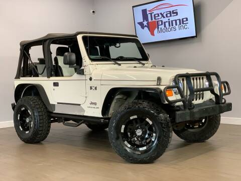 2006 Jeep Wrangler for sale at Texas Prime Motors in Houston TX