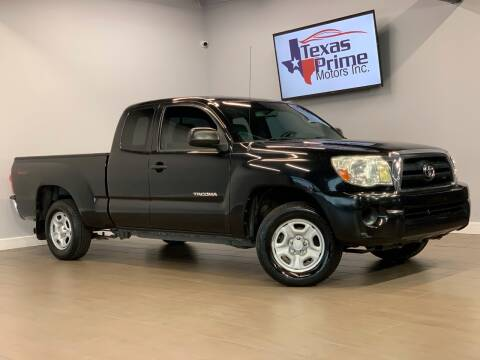 2005 Toyota Tacoma for sale at Texas Prime Motors in Houston TX