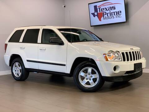 2007 Jeep Grand Cherokee for sale at Texas Prime Motors in Houston TX