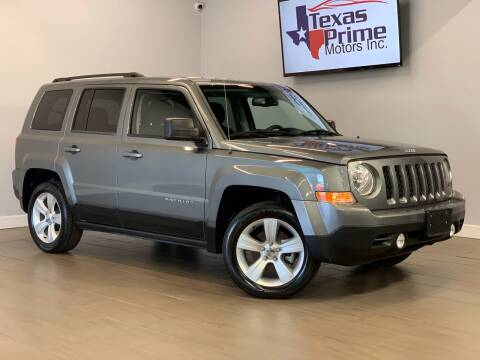 2013 Jeep Patriot for sale at Texas Prime Motors in Houston TX