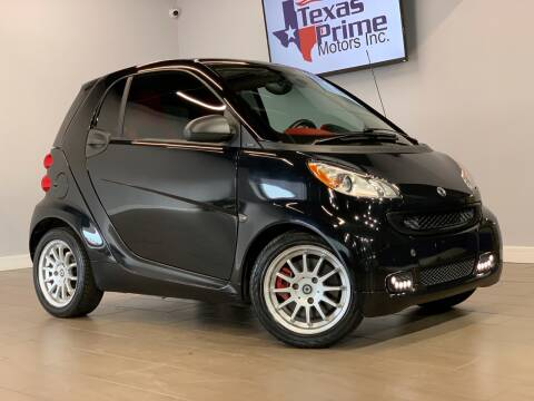 2012 Smart fortwo for sale at Texas Prime Motors in Houston TX