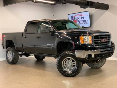 2010 GMC Sierra 2500HD for sale at Texas Prime Motors in Houston TX