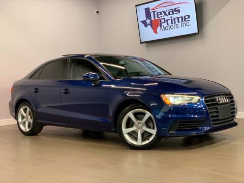 2015 Audi A3 for sale at Texas Prime Motors in Houston TX