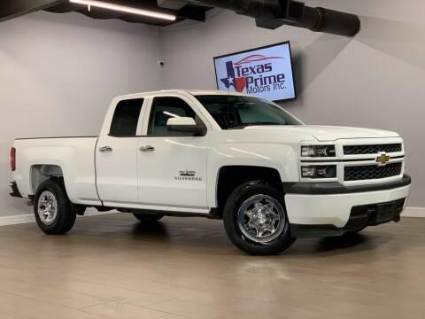 2014 Chevrolet Silverado 1500 for sale at Texas Prime Motors in Houston TX