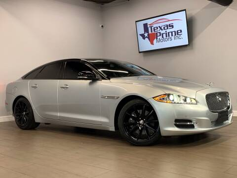 2012 Jaguar XJ for sale at Texas Prime Motors in Houston TX