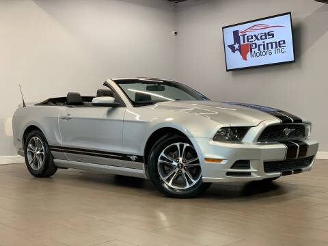 2014 Ford Mustang for sale at Texas Prime Motors in Houston TX