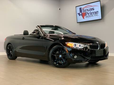 2016 BMW 4 Series for sale at Texas Prime Motors in Houston TX