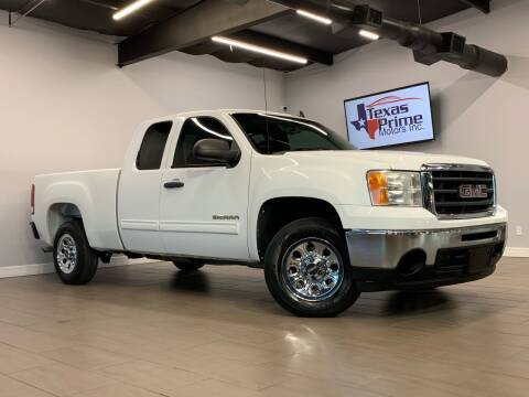 2010 GMC Sierra 1500 for sale at Texas Prime Motors in Houston TX