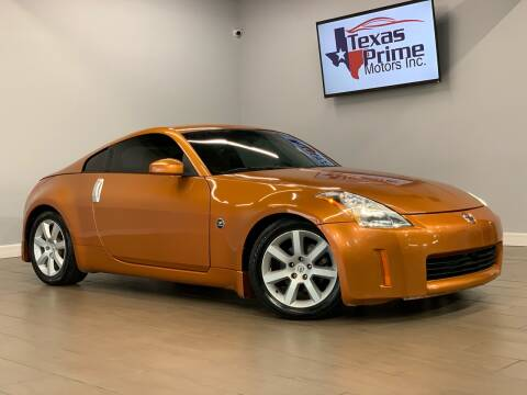 2003 Nissan 350Z for sale at Texas Prime Motors in Houston TX