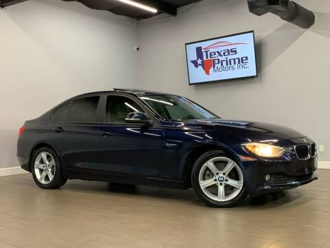 2014 BMW 3 Series for sale at Texas Prime Motors in Houston TX