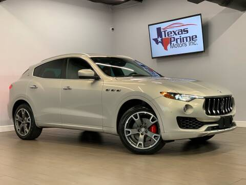 2017 Maserati Levante for sale at Texas Prime Motors in Houston TX