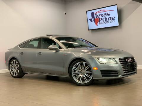 2012 Audi A7 for sale at Texas Prime Motors in Houston TX
