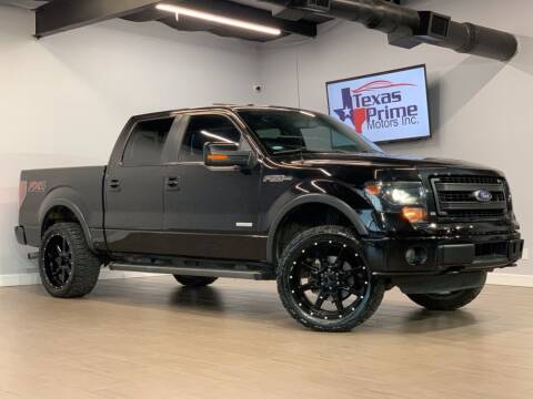 2014 Ford F-150 for sale at Texas Prime Motors in Houston TX