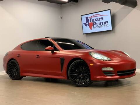 2010 Porsche Panamera for sale at Texas Prime Motors in Houston TX