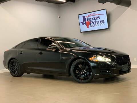 2014 Jaguar XJL for sale at Texas Prime Motors in Houston TX